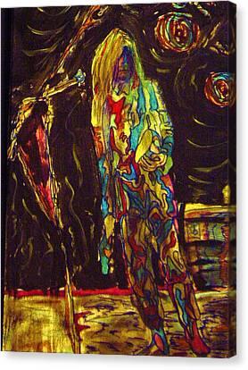 Patti Smith Canvas Print by Gayland Morris