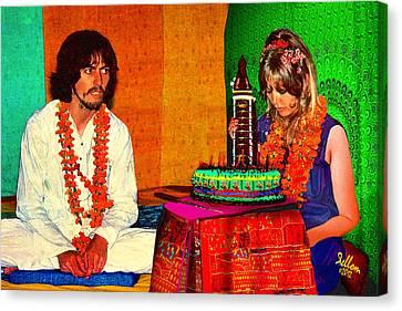 Pattie Boyd 24th Birthday Canvas Print by Che Rellom