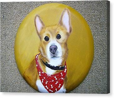 Patti's Grand-dog Canvas Print