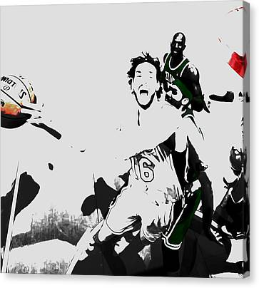 Pau Gasol 2c Canvas Print by Brian Reaves