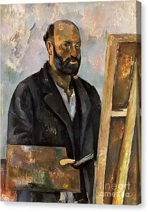 Paul Cezanne (1839-1906) Canvas Print by Granger
