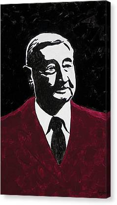Paul Eells Canvas Print by Amy Parker