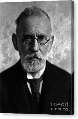 Paul Ehrlich, German Immunologist Canvas Print by Science Source