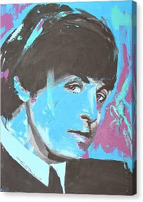 Paul Mccartney Single Canvas Print by Eric Dee