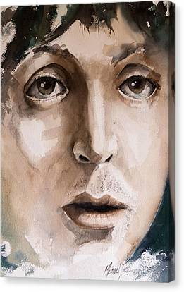 'paul' Canvas Print by Michael Lang