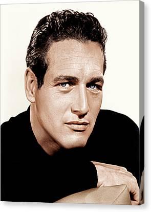 Paul Newman, Ca. 1963 Canvas Print by Everett