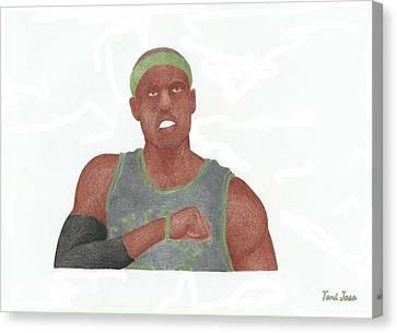 Paul Pierce  Canvas Print