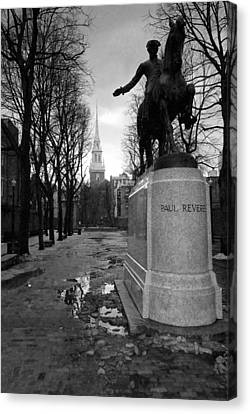 Paul Revere Canvas Print by Andrew Kubica