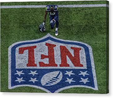 Paul Richarson Nfl Canvas Print