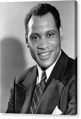 Paul Robeson, Ca. 1930s Canvas Print by Everett