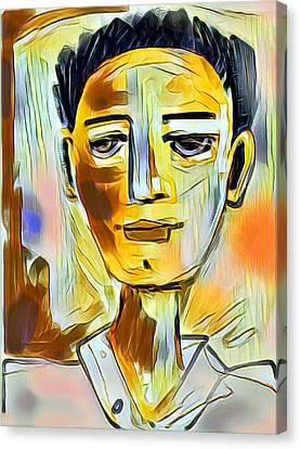 Pauls Portrait Canvas Print by Elaine Lanoue