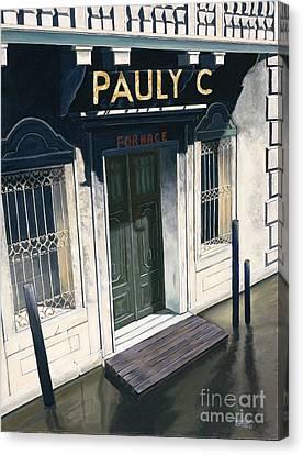 Pauly C. Fornache Canvas Print