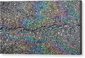 Pavement Rainbow II Canvas Print