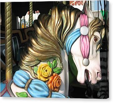 Pavilion Princess Canvas Print by Kelly Mezzapelle