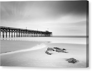 Pawleys Island Pier I Canvas Print by Ivo Kerssemakers