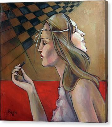 Pawn Canvas Print by Jacque Hudson