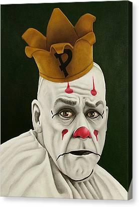Pity Canvas Print - Payaso by SarahjewelAZ SarahjewelAZ