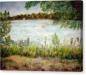 Paynes Prairie Lake Canvas Print