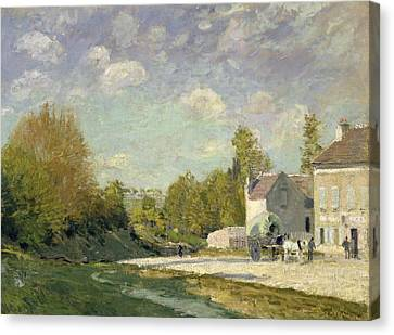 Paysage Canvas Print by Alfred Sisley