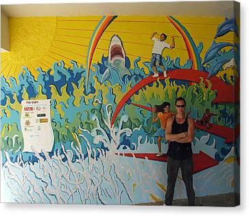 Paz Y Unidad Canvas Print by Elio Lopez