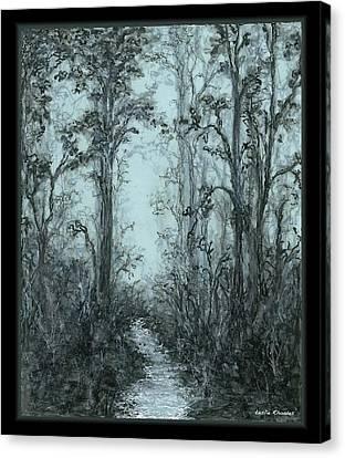 Canvas Print - Pazienza by Leslie Rhoades