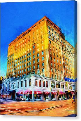 Peabody Hotel - Memphis Canvas Print