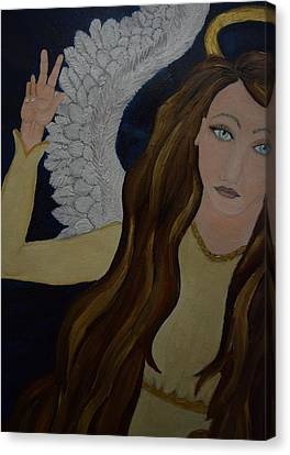 Peace, Brother Canvas Print by Wendy Wunstell
