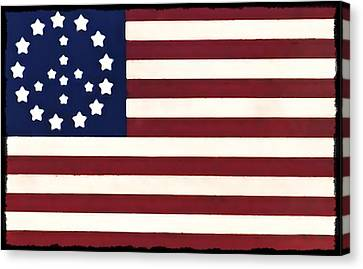 Peace Flag Canvas Print by Bill Cannon