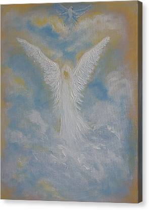 Peace From An Angel  Canvas Print