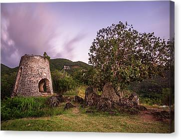 Canvas Print featuring the photograph Peace Hill Ruins by Adam Romanowicz