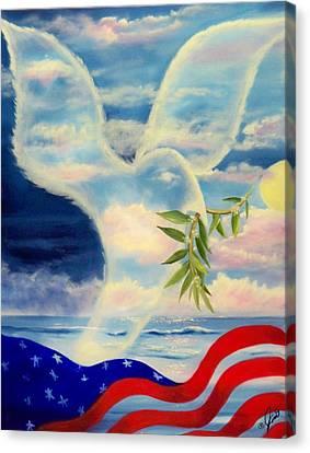 Peace Canvas Print by Joni McPherson