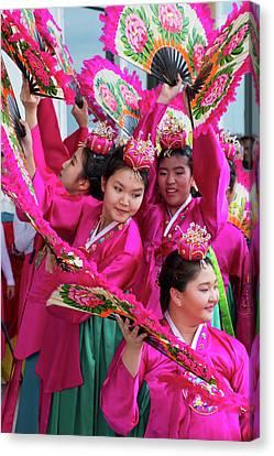 Peace Mission Korean Dance Group - 1 Canvas Print