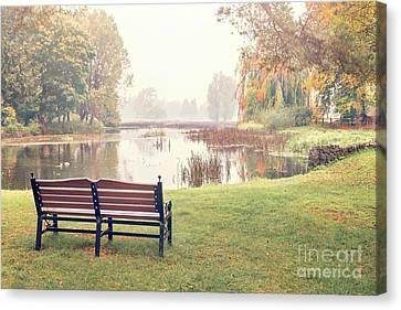 Peace Of Autumn Canvas Print