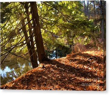 Canvas Print featuring the photograph Peace On Earth by Betsy Zimmerli
