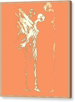 Peace On Earth Canvas Print by Emna Bonano