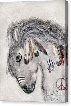 Wild Horse Canvas Print - Peace Song by Bleu Bri