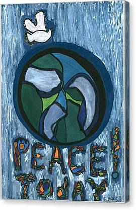 Peace Today Canvas Print by Darrell Black