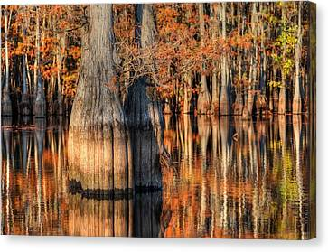 Peaceful Autumn Afternoon Canvas Print by Ester  Rogers