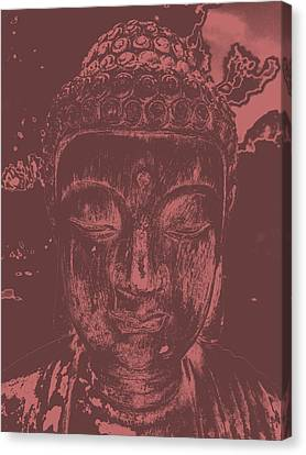 Peaceful Buddha Canvas Print