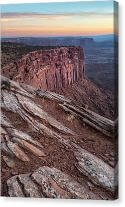 Peaceful Canyon Morning Canvas Print