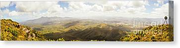 Peaceful Countryside Panorama Canvas Print by Jorgo Photography - Wall Art Gallery