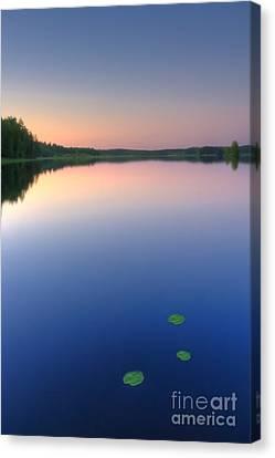 Peaceful Evening Canvas Print by Veikko Suikkanen