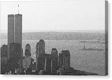 Peaceful Harbor Canvas Print by Richard Gerken