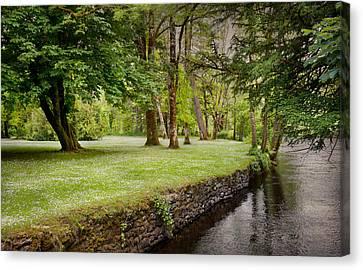 Peaceful Ireland Landscape Canvas Print