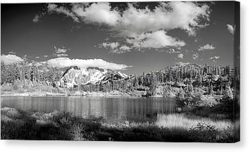Canvas Print featuring the photograph Peaceful Lake by Jon Glaser