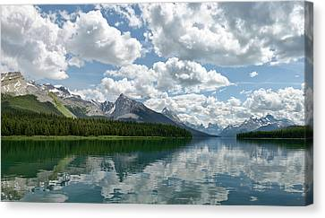 Peaceful Maligne Lake Canvas Print