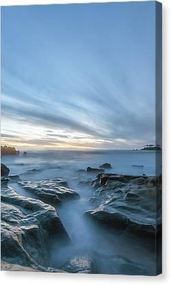 Canvas Print featuring the photograph Peaceful Ocean by Cliff Wassmann