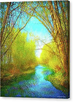 Peaceful River Spirit Canvas Print