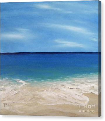 Peaceful Sands Canvas Print
