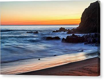 Peaceful Sea Canvas Print by Kelley King